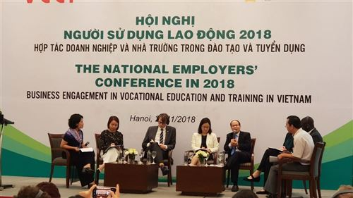 Tăng cường hợp tác giữa Nhà trường, doanh nghiệp trong đào tạo và tuyển dụng