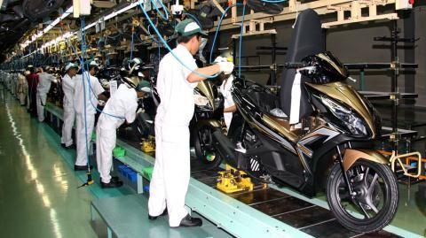Công Nhân Lắp Ráp Xe Honda - Đào Tạo Trực Tiếp